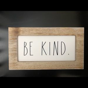 Rae Dunn Be Kind Sign